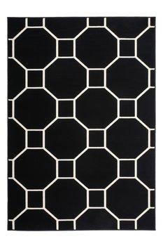Goedkoop vintage vloerkleed Ariadne zwart wit