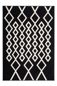 Wit zwart modern vloerkleed Ariadne