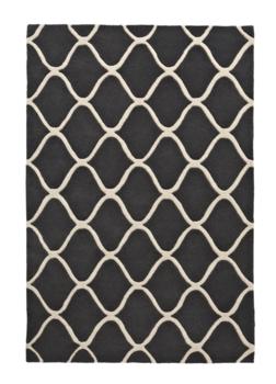 Zuiver wollen vloerkleed Pure Wool kleur grijs EL65