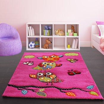 Kinderkamer vloerkleed Kelly 793 Pink 55