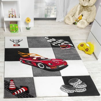 Kinderkamer vloerkleed Kelly 21833 kleur Creme grijs 695