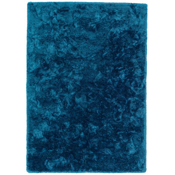 Hoogpolige vloerkleden Queen 025 Blauw