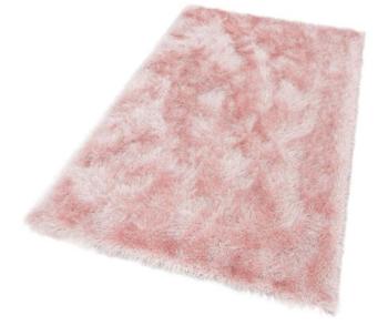 Hoogpool vloerkleed Grandora 411 kleur Roze 55