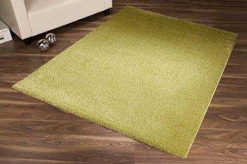 Effen vloerkleed Soraja kleur groen 030