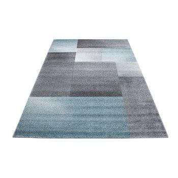 Modern vloerkleed Luciana 1810 kleur blauw