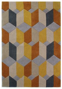 Design vloerkleed Scorpio kleur oker