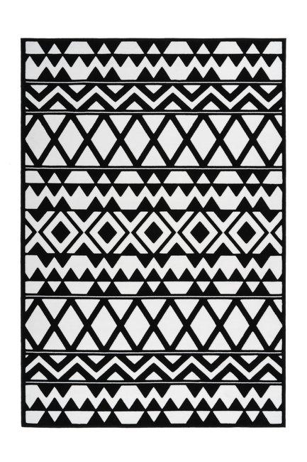 Vloerkleed Yesper Zwart Wit 725