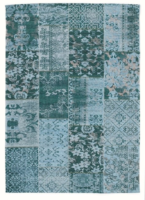 Patchwork karpet New York 486 Turquoise