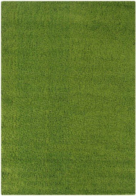 Groen hoogpolig vloerkleed Calys 170 Groen