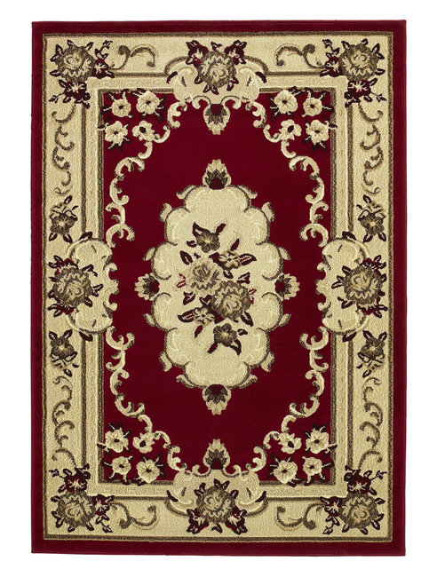 Oriental vloerkleed kleur rood