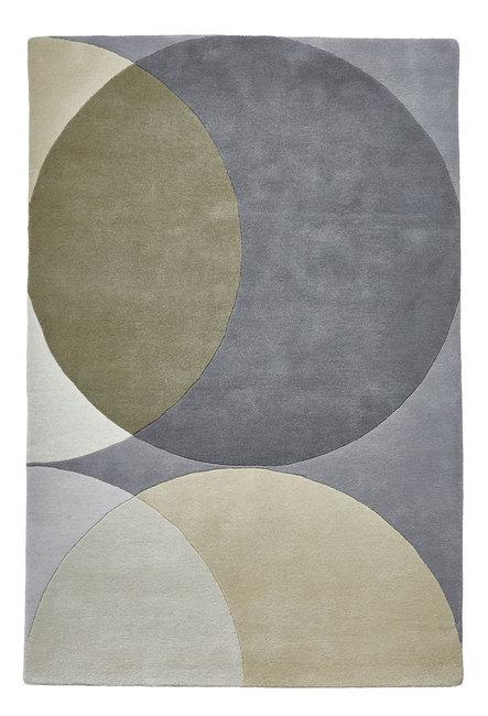 Zuiver wollen vloerkleed Pure Wool kleur grijs EL43