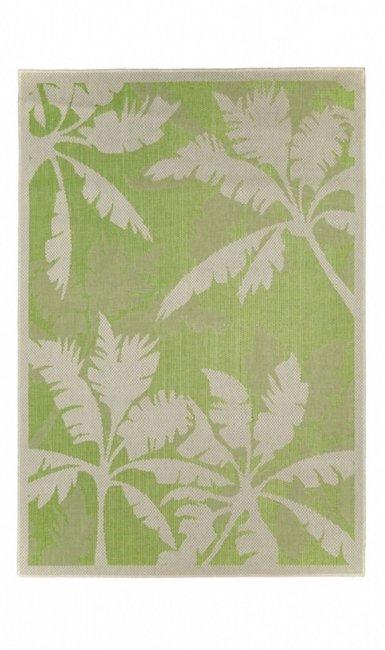 Outdoor en indoor vloerkleed Subeam kleur groen