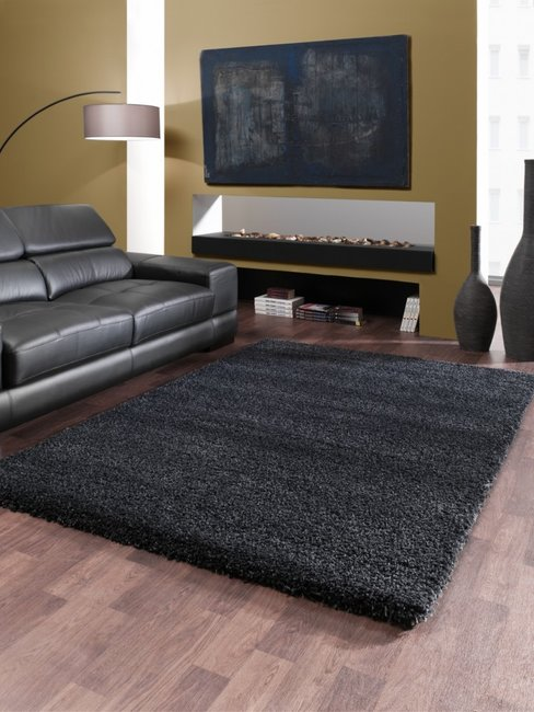 Hoogpolig vloerkleed Monarc 5533 kleur Grijs 90