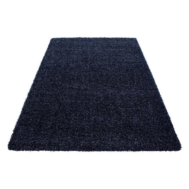 Navy Blauwe vloerkleden Adriana Shaggy  1500/AY