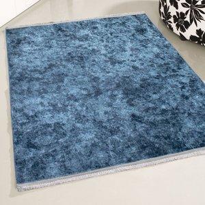 Wasbaar vloerkleed Elise Blauw MY2860
