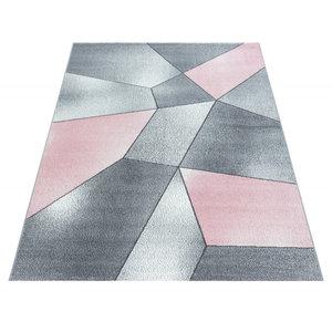 pink vloerkleed