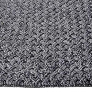 Vloerkleed gemaakt van 100% wol Brian d.grijs