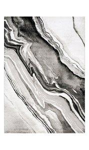 Modern vloerkleed Munchen grijs