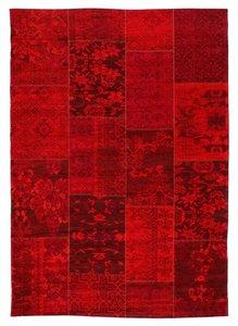 Patchwork tapijt New York 430 Rood