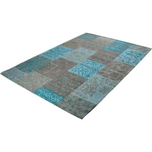Patchwork karpet Patch Vintage Aqua