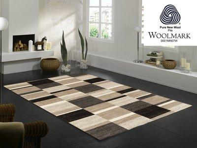 Wol vloerkleed Wool Plus 458 cappuccino