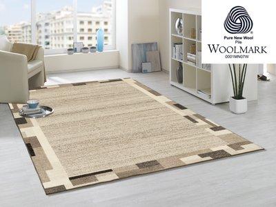 Zuiver wollen vloerkleden Wool Plus 469 Natur